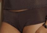 Werso šortky Gabana hnědé