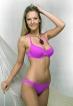 Werso plavky Siti podprsenka světle fialová