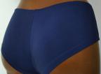 Werso šortky Panama tmavě modré