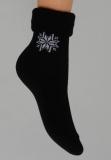 Ponožky teplé ohrnovací 613