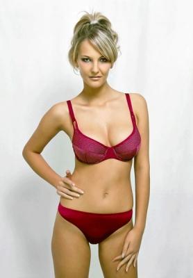 Werso kalhotky Irena bordó
