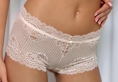 Werso šortky Andora bílé