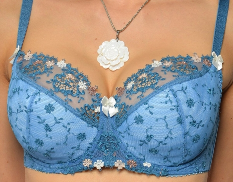Werso podprsenka Saxana modrá