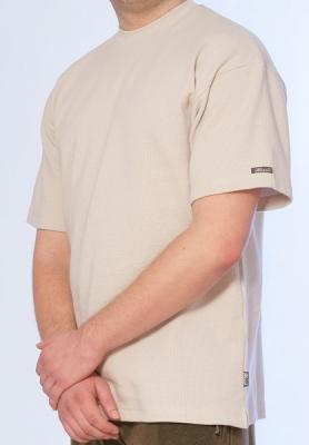 Werso tričko Marek kr. rukáv béžové