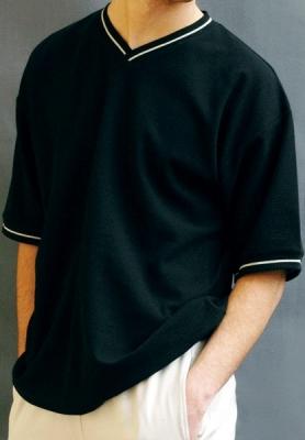 Werso tričko Vítek kr. rukáv černé